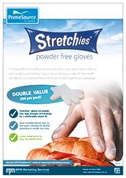 Stretchies Powder Free Gloves