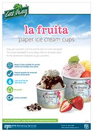 La Fruita Paper Ice Cream Cups