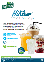 HiKleer PET Cold Drinks Cups
