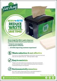 ServRite® Napkin Dispenser - Product Brochure