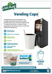 Vending Cups Product Catalogue